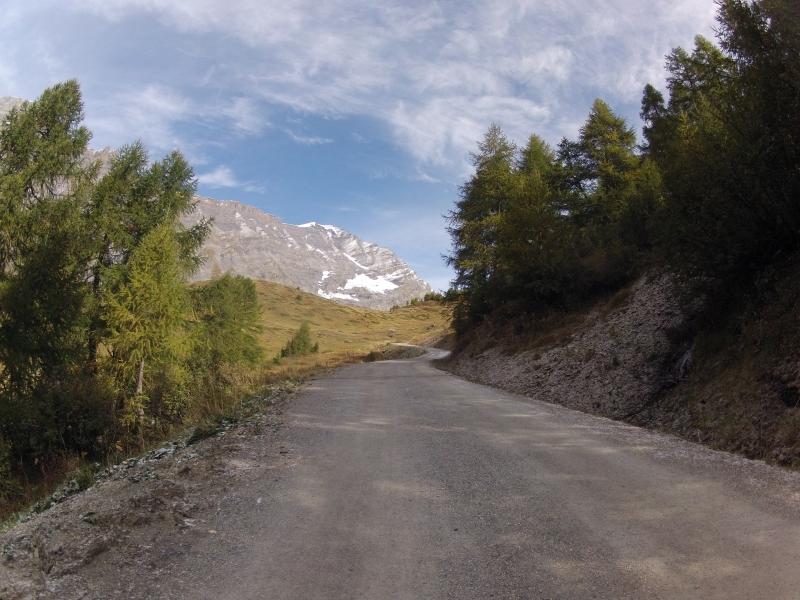 Bergauf zur Majingalp