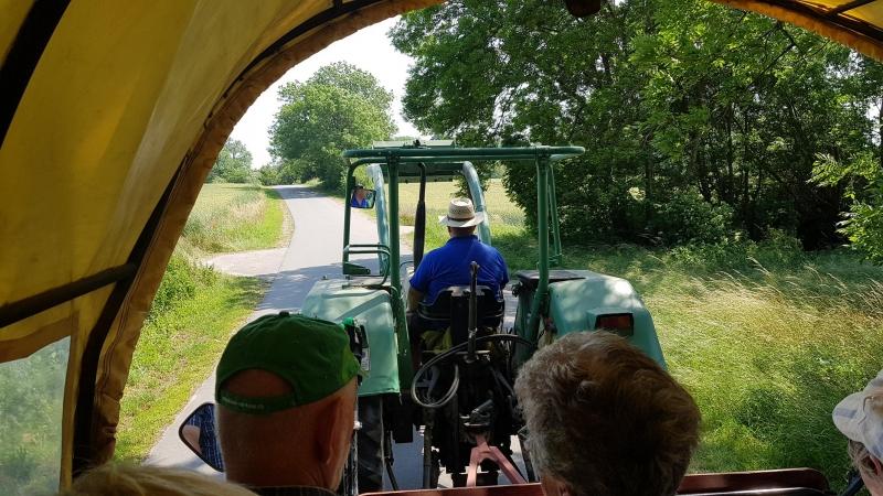 Traktor statt Pferde