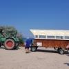 Der Traktor steht bereit