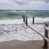 Ostsee mit Wind