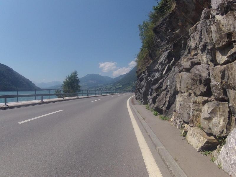 Dem Vierwaldstättersee entlang nach Alpnach