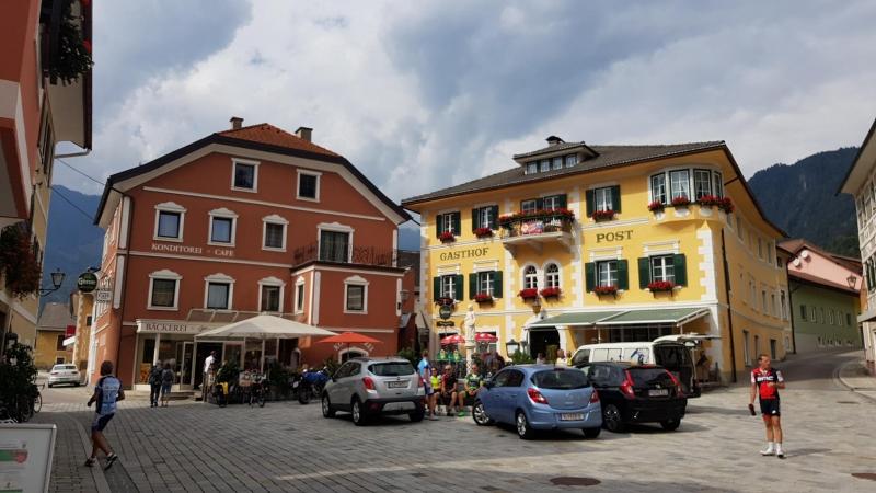 Mittagshalt in Oberdrauburg