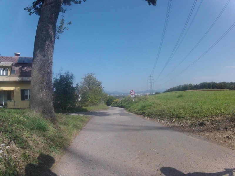 Blick nach Klagenfurt