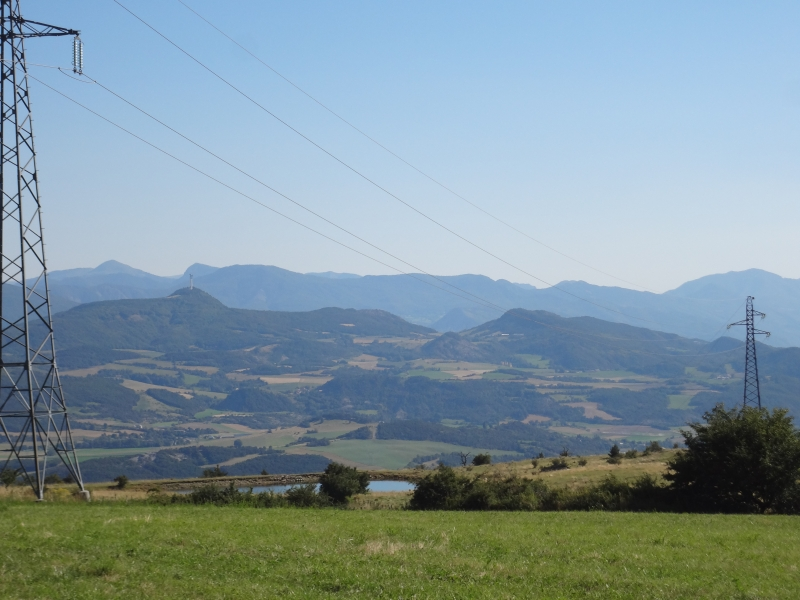 Aussicht in der Nähe des Col de Mans