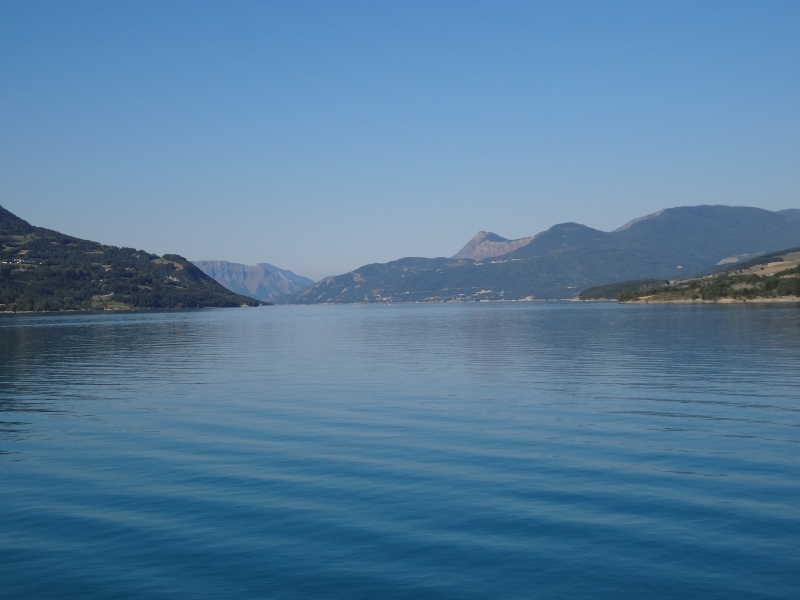 Am Lac de Serre Poncon