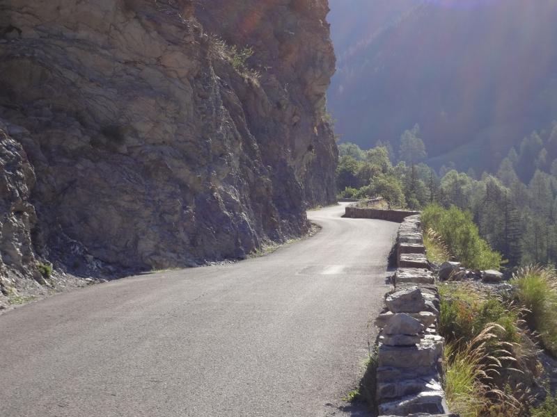 In der Schlucht zum Col da la Cayolle