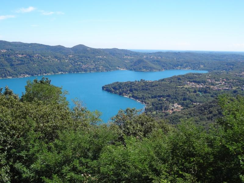 Blick auf den Lago d'Orta