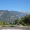 Blick hinüber zum Col de la Madeleine