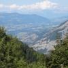 Aussicht von der Passstrasse zum Col de Parquetout