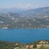 Panorama Lac de Serre Poncon mittlerer Teil rechts