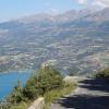 Panorama Lac de Serre Poncon rechter Teil