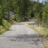 Passstrasse vom Col des Champs ins Allos Tal