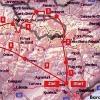 Unsere geplante Route in den Pyrenäen