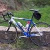 Mein Mietrad in der Pyrenaeenrundfahrt