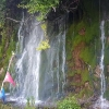 Wasserfall in der Region Granada
