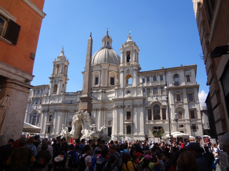 am Piazza Navone