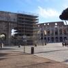 Triumphbogen und Colosseum