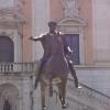 Auf dem Piazza del Campidoglio