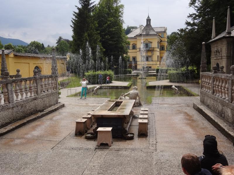 Wasserspiel im römischen Teil