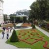 im Garten von Schloss Mirabell