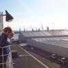 Einfahrt im Fährhafen von Hull