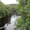 Flusslauf in Schottland