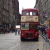 Bus in Edinburgh