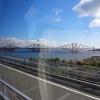 Eisenbahnbrücke vor Edinburgh