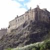 Das Schloss von der Stadt her gesehen