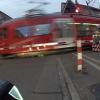 Bahnübergang der Uetlibergbahn
