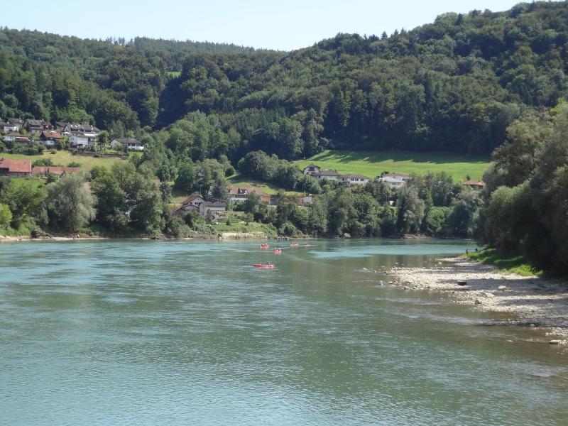 Rhein / Grenzübergang