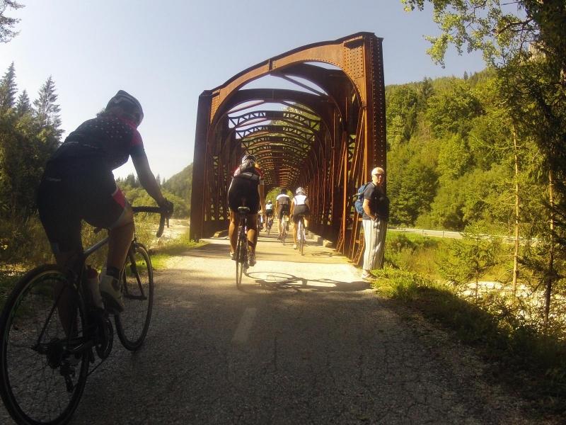 Unterwegs nach Kranjska Gora