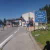 Passhöhe Wurzenpasse und Grenzübergang