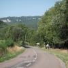 Einfahrt in das Tal des Doubs, oberhalb Vaufrey