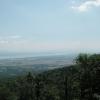Blick auf den Genfersee, irgendwo oberhalb Nyon