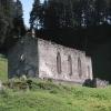 Verfallene Kirche? Kurz nach Casaccia im Bergell