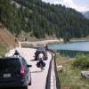 Auch andere Radfahrer sind unterwegs