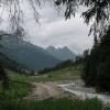 Die Trisanna, scheint im August 2005 während des Hochwassers ganz schön gewütet zu haben