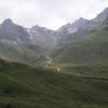 Kurz nach der Passhöhe Bielerhöhe