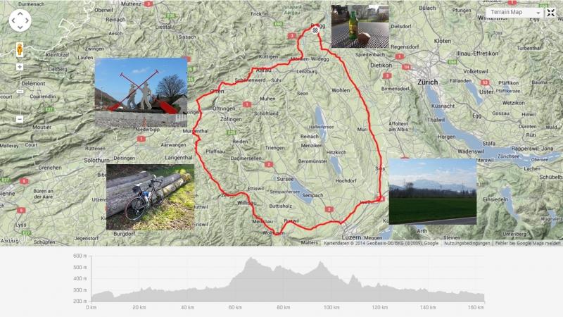 Rundfahrt zwischen Alpen und Jura