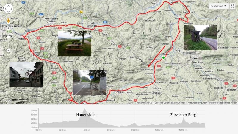 Rundfahrt Hauenstein - Zurzacherberg
