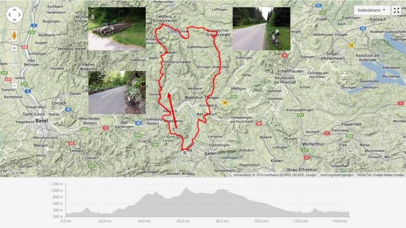 Rundfahrt in den Schwarzwald