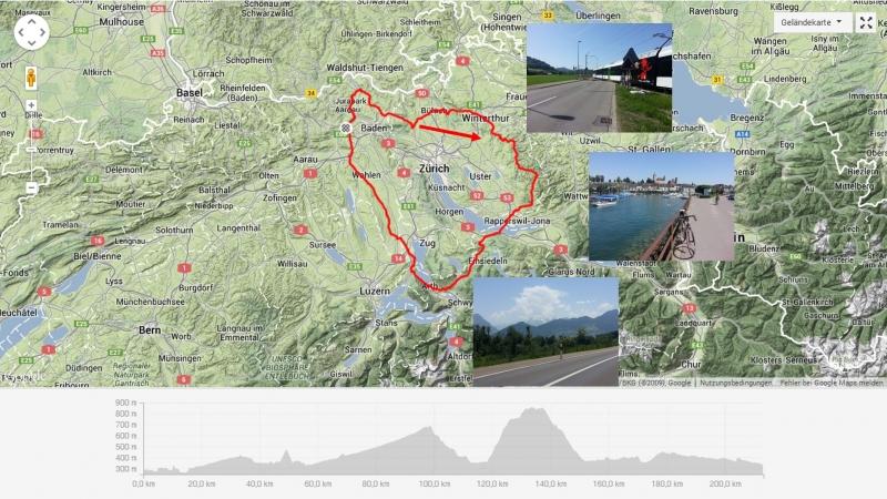 Zürcher Oberland, Zugersee und Reusstal