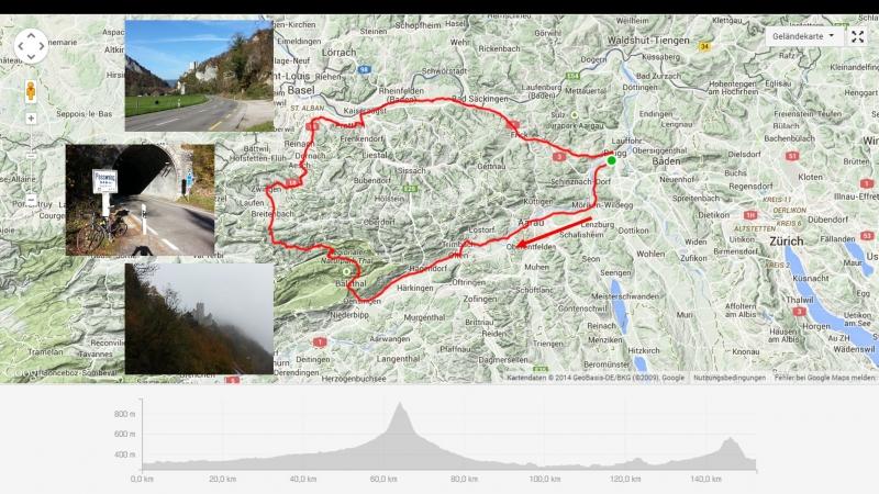 Rundfahrt über Passwang und Bözberg