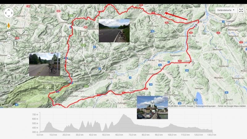 Rundfahrt: in den Jura und zurück durch das Mittelland