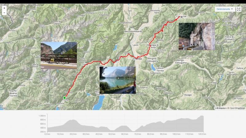 Storo - Tione - Trento - Cavalese