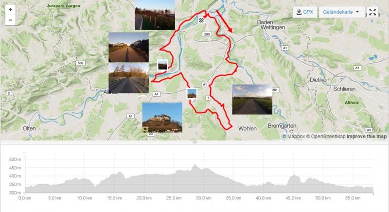 Rundfahrt im Aargau