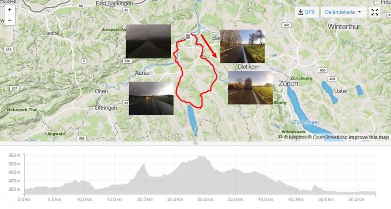 Rundfahrt Reusstal-Bünztal-Seetal-Aaretal