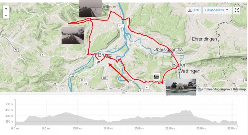 Rundfahrt Villigerfeld - Baden - Birmenstorf