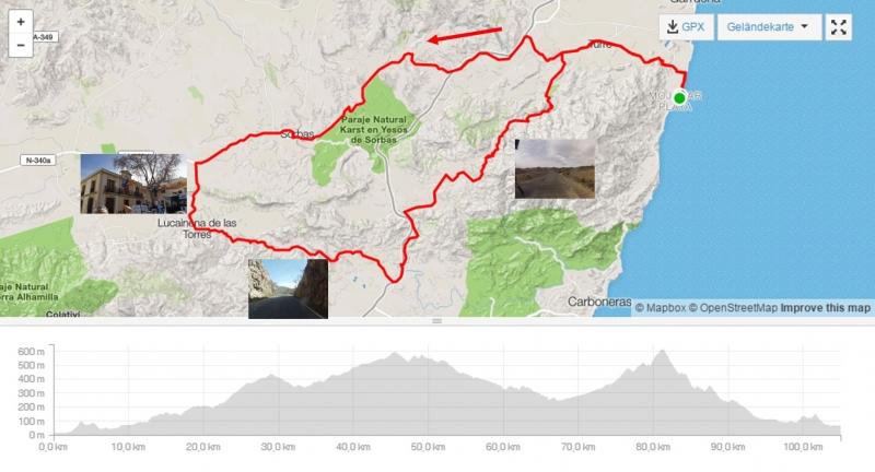 Via Verde und Sierra Cabrera
